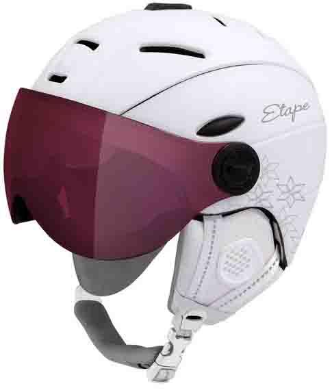 Zimní helmy s visorem