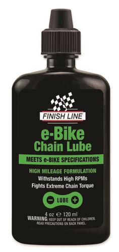 FINISH LINE E-Bike Chain Lube 4oz/120ml-kapátko