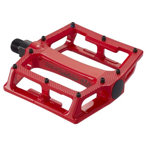 Pedály Reverse Super Shape 3-D červené