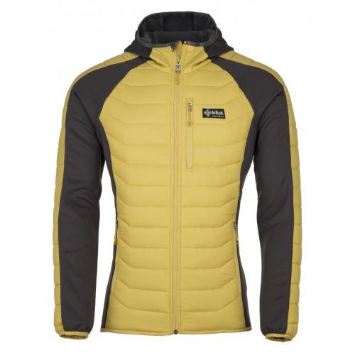 Pánská outdoor bunda KILPI ADISA-M Žlutá