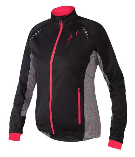Etape dámská zimní bunda FUTURA WS, černá/granatina