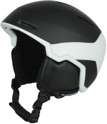 BLIZZARD Viper ski helmet, black matt/white matt