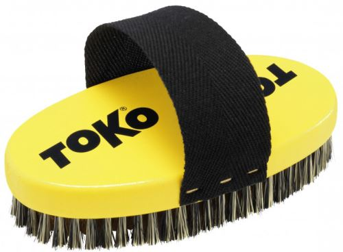 TOKO Base Brush Oval Copper With Strap