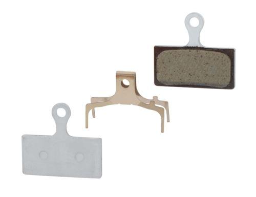 Destičky brzdové Shimano BRM985 polymerové, s pružinou