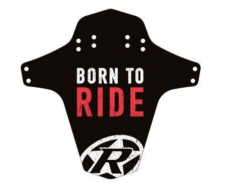 Blatník přední Reverse MudGuard Born to ride černá/červená