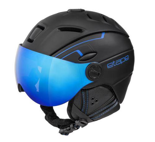Etape lyžařská přilba COMP PRO, černá/modrá mat