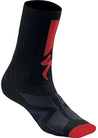 Specialized SL Elite Winter Sock 2018 Black/Red