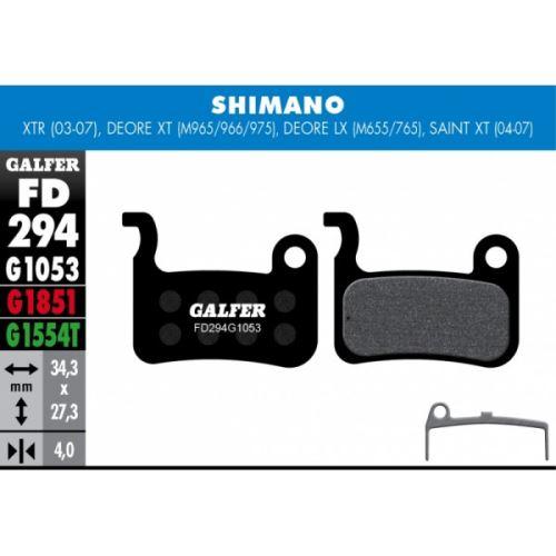 Brzdové destičky Galfer SHIMANO FD294
