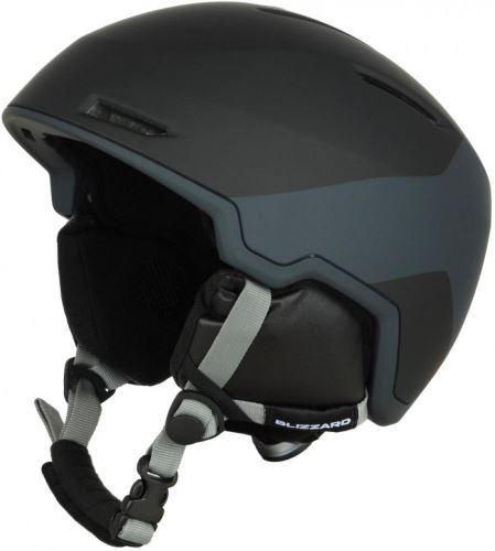 BLIZZARD Viper ski helmet, black matt/grey matt