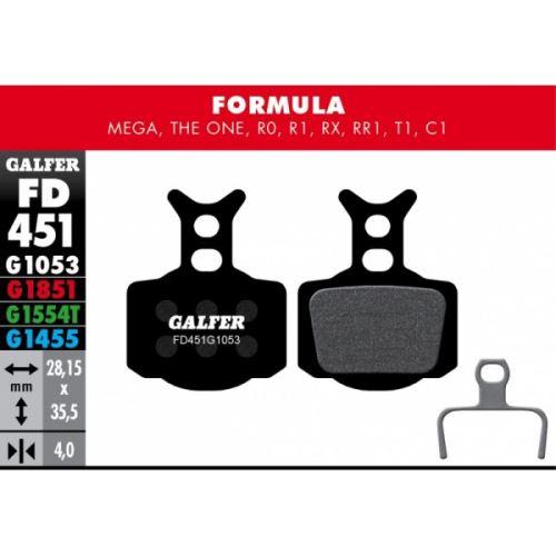 Brzdové destičky Galfer FORMULA FD451