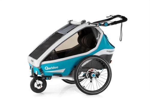 QERIDOO Vozík Kidgoo2 Sport 2020 - Petrol Blue UNI