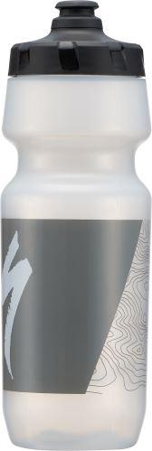 Specialized 24oz. Big Mounth 2ND Generacion Bottle - Translucent/Grey Topo Block
