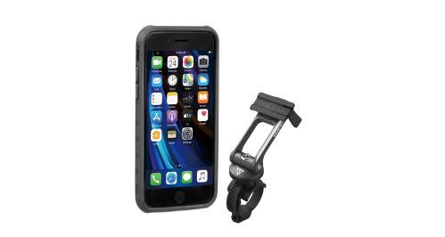 TOPEAK obal RIDECASE pro iPhone SE (2020), 8, 7 černá/šedá
