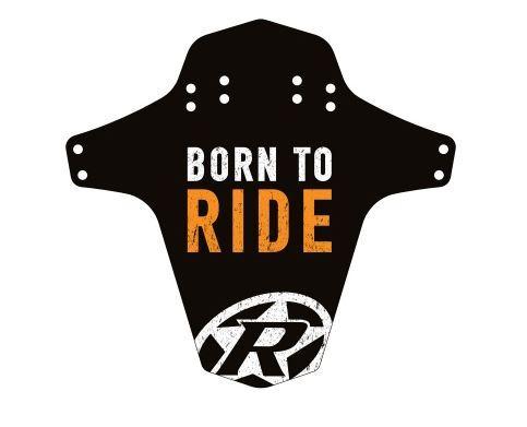 Blatník přední Reverse MudGuard Born to ride černá/oranžová