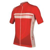 Endura dres s krátkým rukávem Pro SL Lite Červená