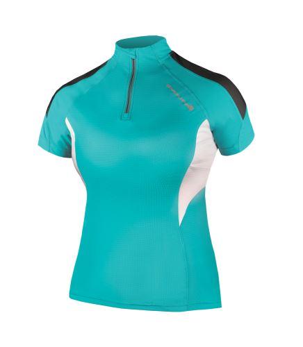 Endura Hummvee Lite dámský dres s krátkým rukávem Zelenomodrá