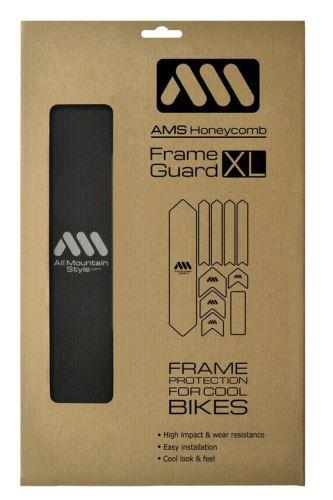 AMS Frame polep XL Black/Silver