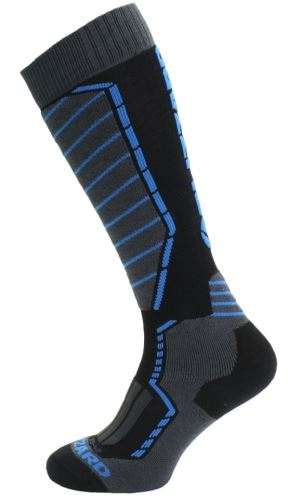 BLIZZARD Profi ski socks, black/anthracite/blue