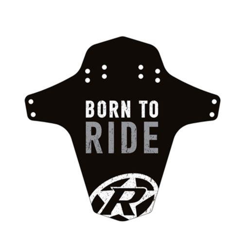 Blatník přední Reverse MudGuard Born to ride černá/neon zelená