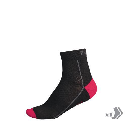 Endura dámské zimní BaaBaa Merino ponožky (1-balení) Růžová - vel: 37-42
