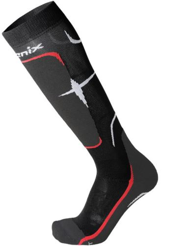 Ponožky Phenix Socks Primaloft Medium Black/Red