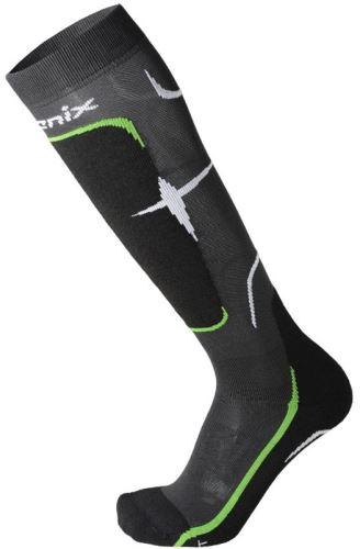 Ponožky Phenix Socks Primaloft Medium Black/Green