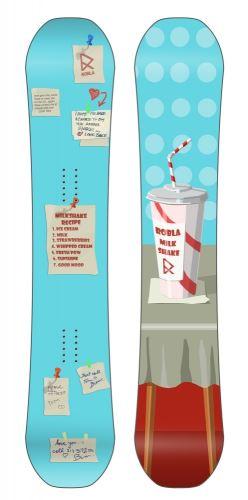 Snowboard ROBLA Milk Shake