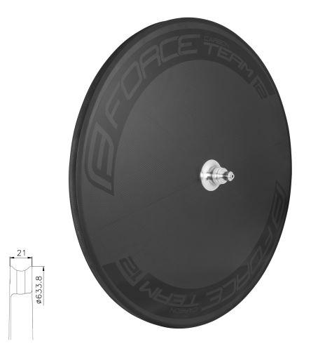 Disk FORCE zadní galuskový karbonový