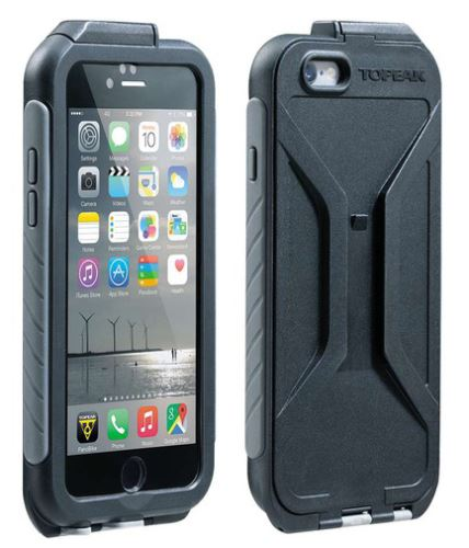 TOPEAK obal WEATHERPROOF RIDECASE pro iPhone 6 černá/šedá