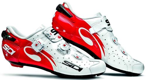 Tretry SIDI Wire Carbon Vernice 2017 White/Red