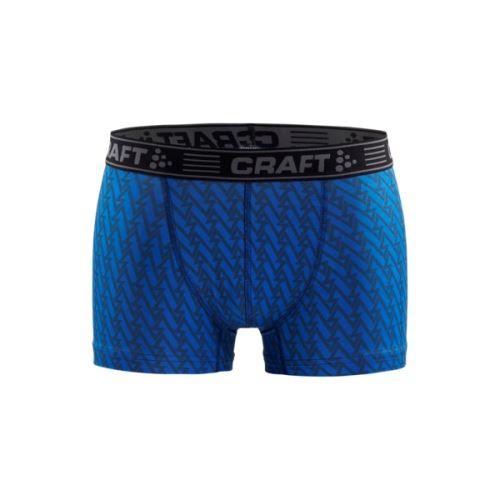 """Boxerky CRAFT Greatness 3""""  Modrá s černou"""