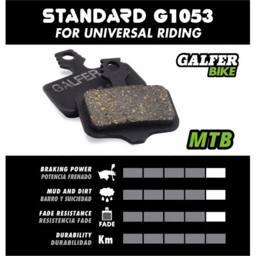 Brzdové destičky Galfer SHIMANO FD452 - Standard