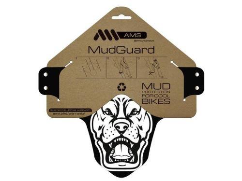 AMS Mud blatníček White/Pitbull