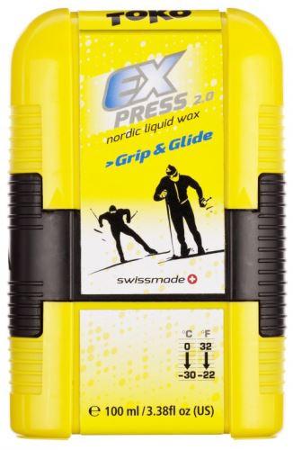 TOKO tekutý vosk Express Grip & Glide Pocket