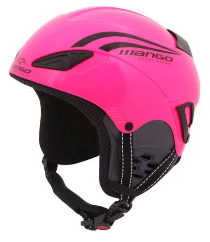 Dětská helma Mango Rocky Růžová fluo